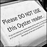 Please Do Not Use This Oyster Reader